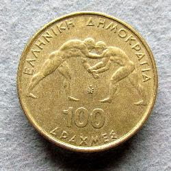 Greece 100 Dr 1999