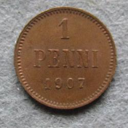 Finland 1 penny 1907