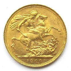 Great Britain Sovereign 1900