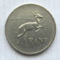 South Africa 1 Rand 1983