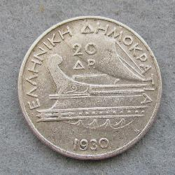 Greece 20 Dr 1930