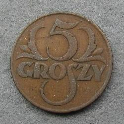 Poland 5 grosh 1928