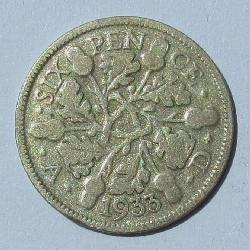 Great Britain 6 pence 1933