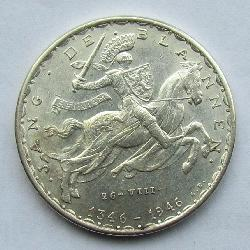 Luxembourg 20 francs 1946