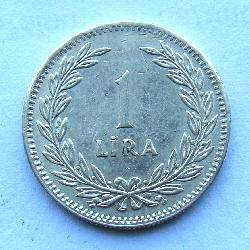 Turkey 1 lira 1948