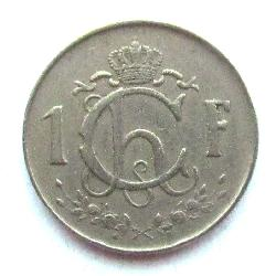 Luxembourg 1 franc 1952
