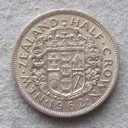 New Zealand 1/2 crown 1962