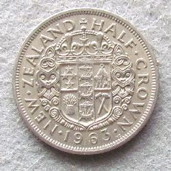 New Zealand 1/2 crown 1963