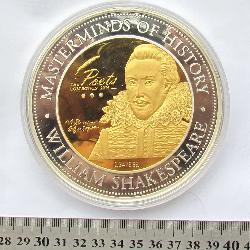Cookinseln 100 Dollar 2014 William Shakespeare
