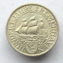 Germany 3 Reichsmarks 1927 A